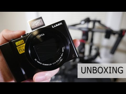 Unboxing / First Impressions: Panasonic LX-10