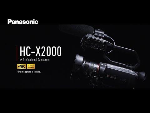 [NEW] Introducing Panasonic 4K Professional Camcorder HC-X2000