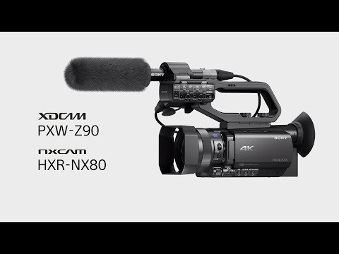 HDR(HLG) Function Video | PXW-Z90 & HXR-NX80 | Sony
