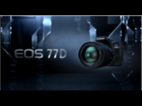 Canon EOS 77D | Free Your Creativity
