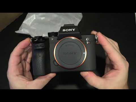 Sony A7R III Unboxing and First Look