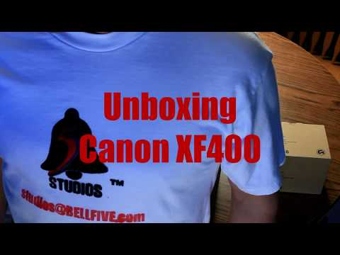 Canon XF400 Unboxing! Brand New Release! See it first on BellfiveStudios, 2017