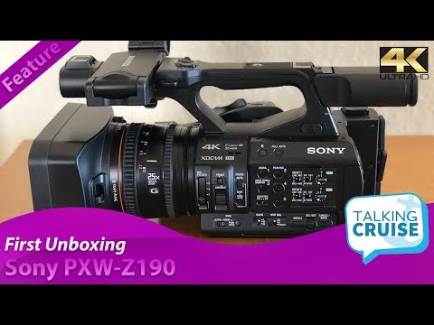 Sony PXW-Z190 4K Camcorder - First Unboxing 2018
