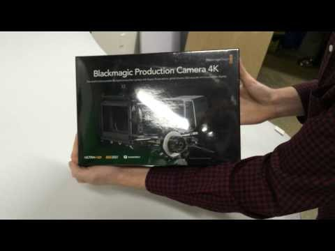 Unboxing the Blackmagic Production Camera 4K