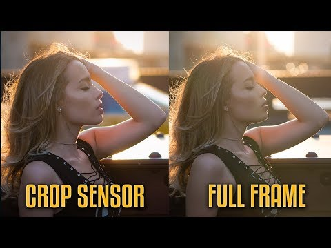 Full frame vs Crop sensor | A REAL WORLD COMPARISON!