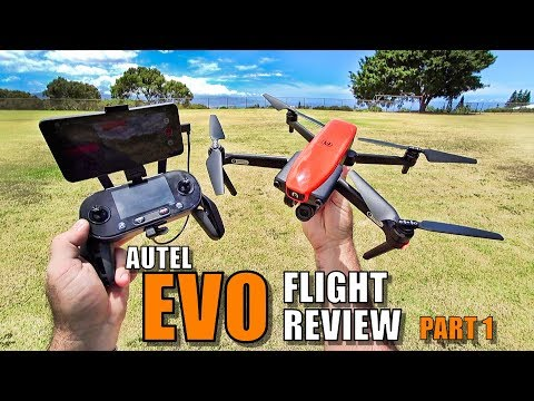 AUTEL EVO Review - [Flight Test Part 1 In-Depth / Pros & Cons] Better Than a Mavic?