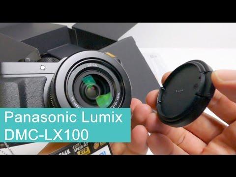 Panasonic Lumix DMC LX100 Unboxing