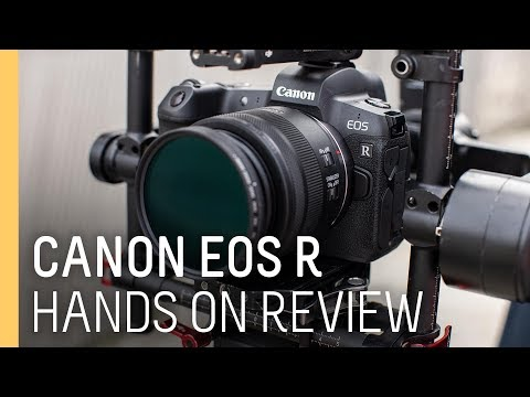Canon EOS R new mirror-less camera Hands-on Review