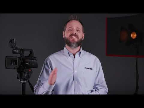 Introducing the Canon XA55 & XA50 4K UHD Professional Camcorders
