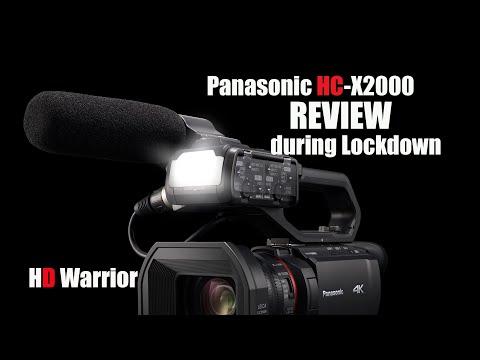 Panasonic HC-X2000 Review during Lockdown