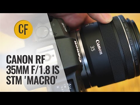 Canon RF 35mm f/1.8 IS STM 'Macro' lens review with samples