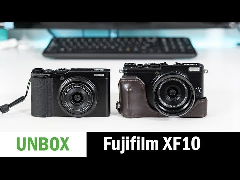 Fujifilm XF10: Unboxing and First Impressions
