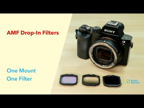 Mirrorless Adapter Mount Format Filters (4k)