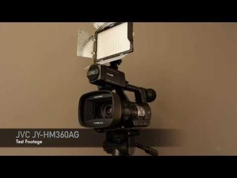JVC JY-HM360AG Test Footage