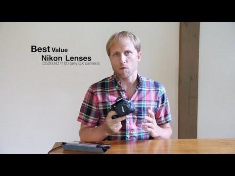 Recommended Lenses for Nikon D5200/D5300/D5500/D7100 (DX Cameras)