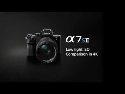 α7S II - 4K low-light ISO comparison movie | Sony | Alpha | A7S II