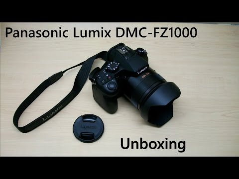 Panasonic Lumix DMC-FZ1000 (unboxing)