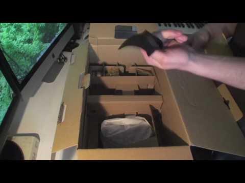 Sony NXCAM HXR-NX5U Unboxing