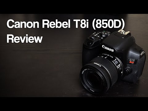 Canon Rebel T8i Review