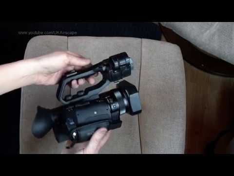 Sony HXR-NX80 4K camcorder unboxing