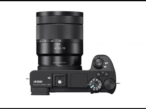 Sony a6500 Features
