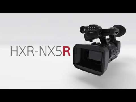 HXR-NX5R Function Video | NXCAM | Sony