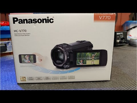 Panasonic HC V770 Prosumer review and test Final