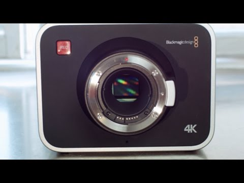 5 Reasons to Buy a Blackmagic 4K Production Camera