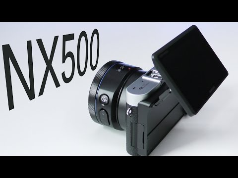 Samsung NX500 4K Digital Camera Unboxing & First Look