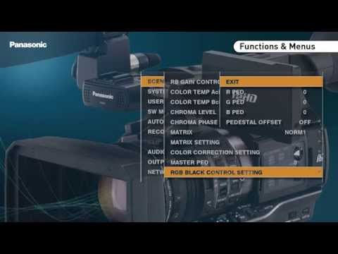 Panasonic P2HD AJ-PX270 Camera Recorder | ENGLISH