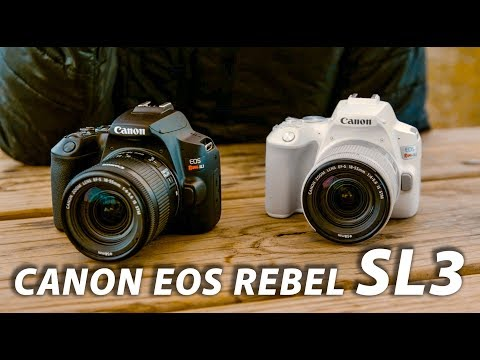 Canon Rebel SL3: Canon's Most Compact DSLR | First Look