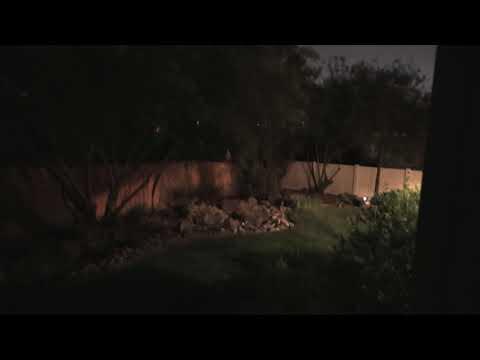 Night test of Panasonic HC-WXF1 (short)