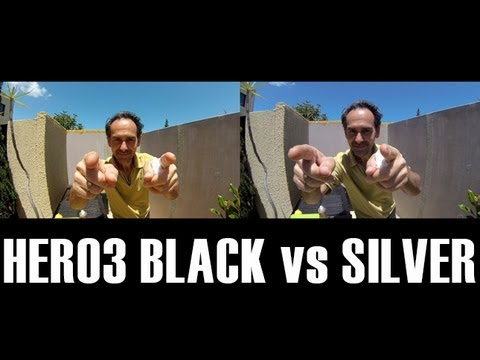 GoPro Hero3 Black Edition vs Silver 1080P Footage & Low Light