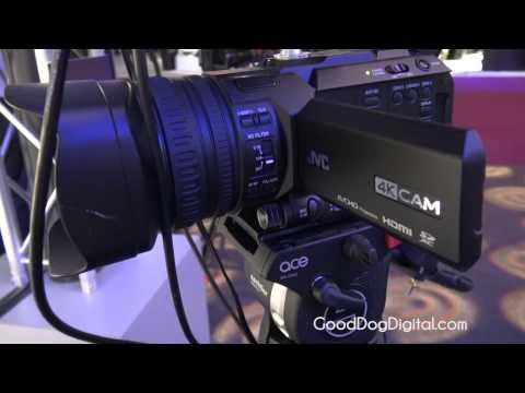NAB 2015 JVC GY-HM170U 4KCAM Camcorder