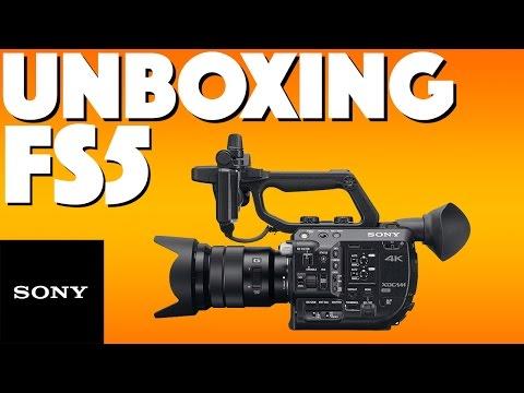 Unboxing a Sony PXW-FS5 | Sony | 4K Creators