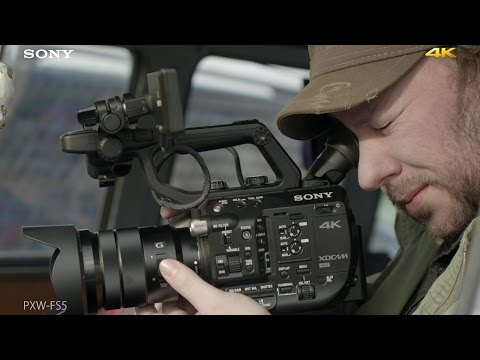 "PXW-FS5 Official 4K Video ""FS5 in Action"" 