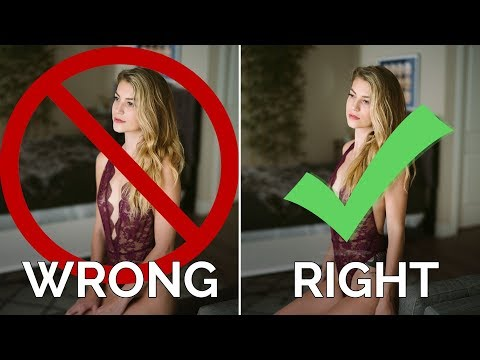 8 Beginner Boudoir Photography MISTAKES and How to Fix Them