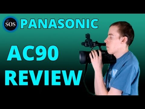 ⇨ Panasonic AG AC90 - Gear Review 32
