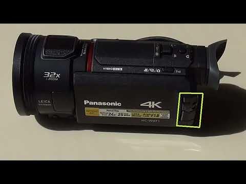 Basic review of the Panasonic HC-WXF1 video camera