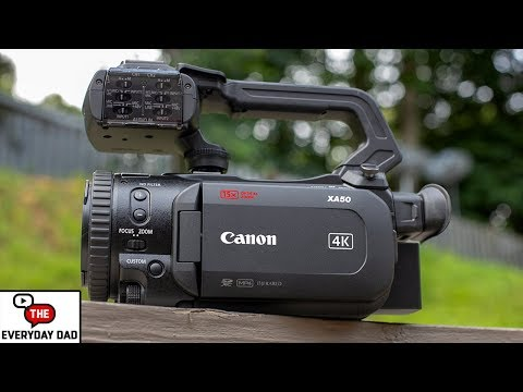 A Camera That LITERALLY Does Everything! The Canon XA50!