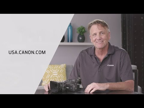 Introducing the Canon VIXIA GX10 Camcorder