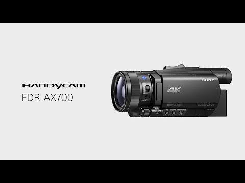 Product Feature - 4K HDR(HLG) | FDR-AX700 | Sony | Handycam®