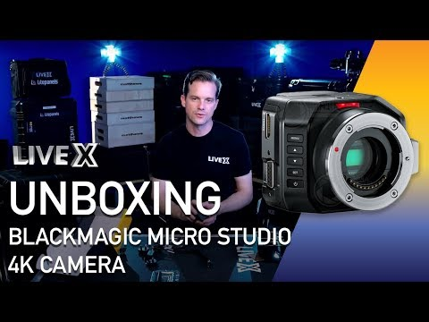 Unboxing: Blackmagic Micro Studio 4K Camera
