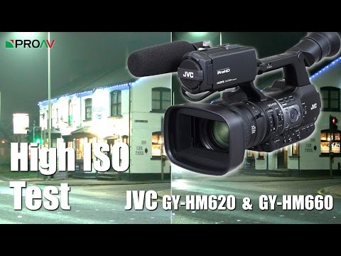 High ISO Test - JVC GY-HM620 & GY-HM660