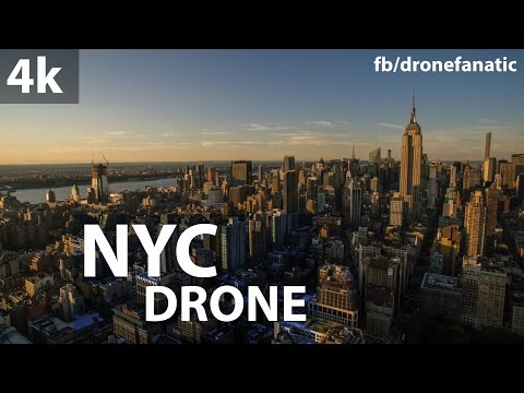 NYC Drone 4k