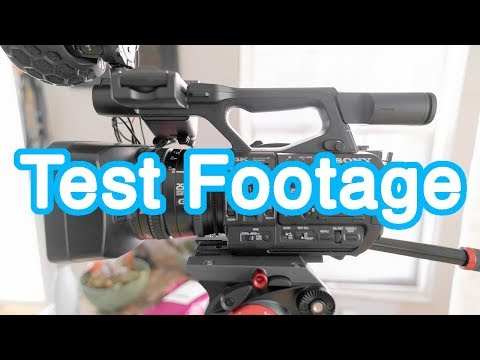 Sony PXW-Z190 Test Footage | 4K 60p HDR | In-Camera Settings/Options & Comparisons