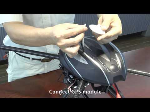 Walkera QR X800 Assemble Video