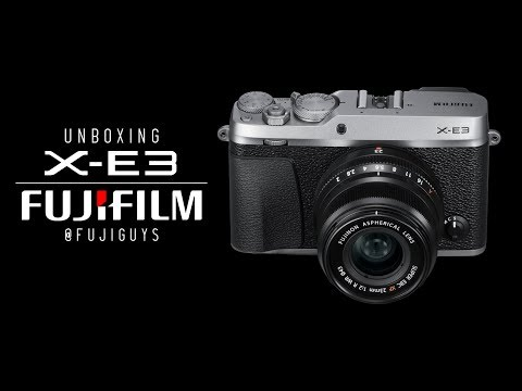 Fuji Guys - FUJIFILM X-E3 - Unboxing and Getting Started