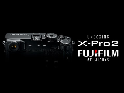 Fuji Guys - FUJIFILM X-Pro2 - Unboxing & Getting Started