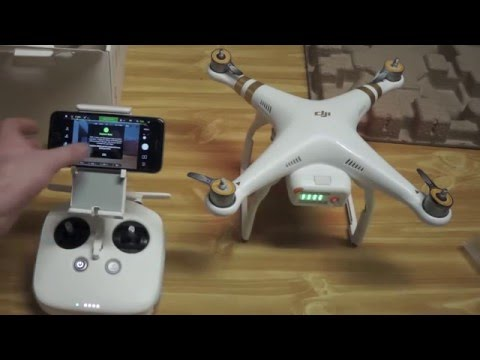 DJI Phantom 3 4K edition unboxing and setup